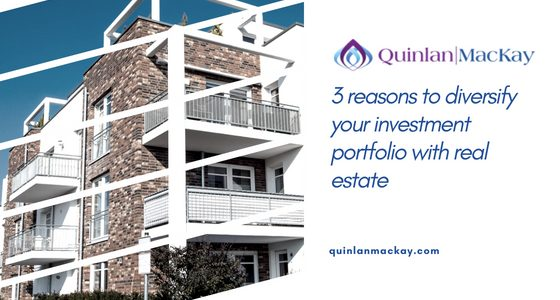 3 reasons to diversify your investment portfolio with real estate