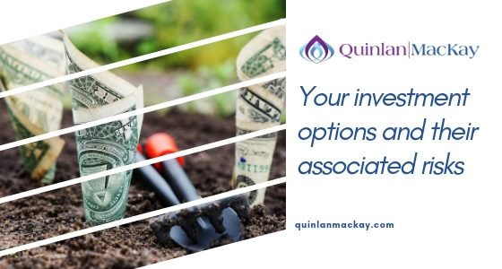 Your investment options and their associated risks